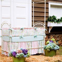 Hey, I found this really awesome Etsy listing at https://www.etsy.com/listing/182172223/girl-baby-crib-bedding-love-birds-3