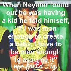 Neymar JR Facts Neymar Quotes, Neymar Memes, Soccer Quotes, Messi And Neymar, Lionel Messi, Love You Babe, My Love, Good Soccer Players, Football Players