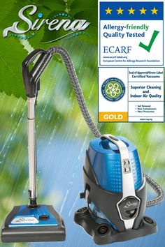 Allergy-friendly #vacuum cleaner! ECARF Certified. Carpet and Rug Foundation Gold Seal of Approval. From $389! Free Shipping on all orders!