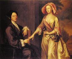 Sir Archibald and Lady Grant - John Smibert - The Athenaeum