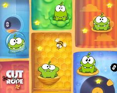 """Adict to """"Cut the Rope"""". Thanks Windows 8 :)"""