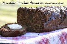 Chocolate Mini Zucchini Bread 1 cup of almond butter 1-2 TB cocoa powder 1 cup shredded zucchini 2 large eggs 1/4 cup grade b maple syrup 1 TB pure vanilla extract 1 tsp apple cider vinegar 1/2 tsp baking soda 1/4 tsp sea salt 2 TB mini chocolate chips *Preheat oven 350; combine the almond butter, eggs, maple syrup, vanilla, cocoa powder, and sea salt and blend with a hand held mixer for 2 minutes on medium speed. Add baking soda and vinegar; stir in shredded zucchini. 30-50