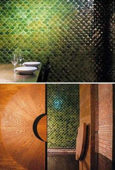 32 Gorgeous And Eye-Catching Fish Scale Tiles Décor Ideas - DigsDigs