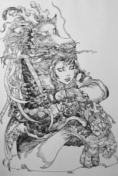 Art by Katsuya Terada | 寺田克也 * - Art Vault
