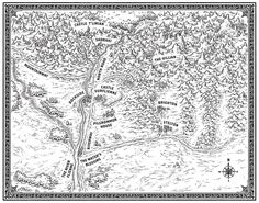 Dragon Run Map by MikeSchley.deviantart.com on @DeviantArt