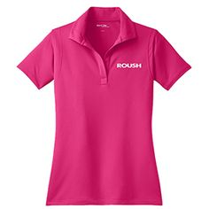 Roush Automotive Collection Store - Roush Ladies Pink Breathable Polo (3114), $35.99 (http://store.roushcollection.com/roush/roush-ladies-pink-breathable-polo-3114/)