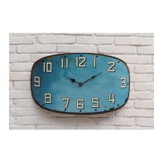 Features:Color: Distressed TurquoiseBattery operated2 AAUrban Homestead collectionProduct...