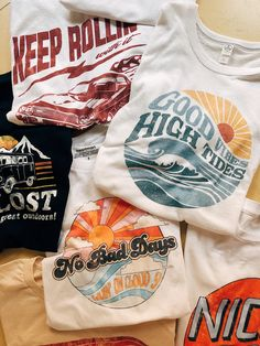 Fashion Ideas Classy Keep the summer vibes going in the MekanaSwim graphic tee collection Outfits For Teens, Trendy Outfits, Cool Outfits, Summer Outfits, Graphic Tee Outfits, Cute Graphic Tees, Vintage Graphic Tees, New Mode, Cool Shirts