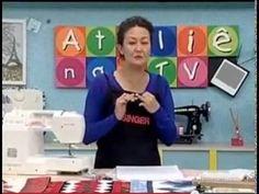Curso Básico  Patchwork Aula 5 - triângulo perfeito parte 1. Queen Liz, Nancy Zieman, Patch Quilt, Craft Videos, Fabric Scraps, Paper Piecing, Quilting, Applique, Patches