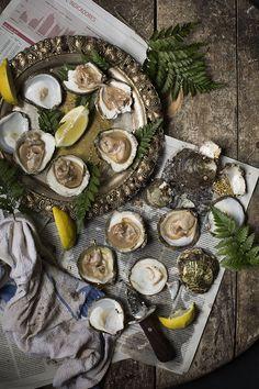 Preparing Oyster. Preparando Ostras