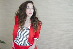 fashion, red, suit, urban, blog, buenos aires