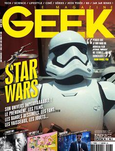 Geek Magazine - N° 7 - Mai & Juin 2015 Jar Jar Binks, Geek Magazine, Star Wars, Science, Mai, Geek Stuff, Movie Posters, Movies, Geek Things