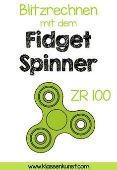 Blitzrechnungen mit dem Fidget Spinner ZR 100