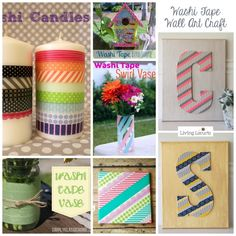 30 Fun Washi Tape Ideas Downtown Tape WASHI GIVEAWAY!