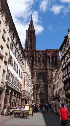 STRASBOURG : CATHEDRALE
