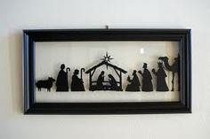 the manger scene..