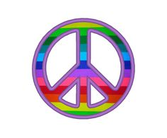 Simple Peace Applique Embroidery Machine Design by OCDEmbroidery on Etsy