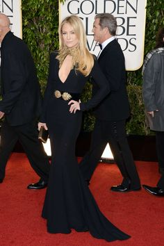 Kate Hudson in Alexander McQueen, 2013 Golden Globe Awards