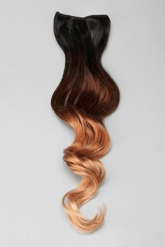 Ombre Clip-In Hair Extension. Easy to style, easy to use!