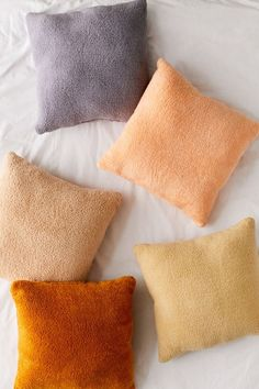 Shop Sherpa Throw Pillow at Urban Outfitters today. We carry all the latest styles, colors and brands for you to choose from right here. Fur Throw Pillows, Faux Fur Throw, Fleece Throw, Throw Pillow Sets, Floor Pillows, Pillow Talk, Urban Outfitters, Fluffy Cushions, Dark Carpet