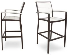 Eco Friendly Furniture - Poly Bar Chair Set