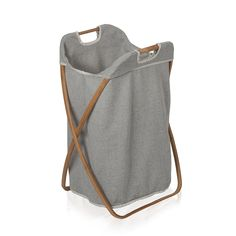 Discover the Moeve Laundry Basket - Bamboo/Canvas - Single at Amara