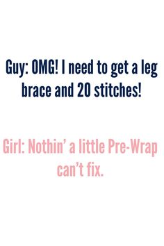 Nothing a little Pre-Wrap can't fix!