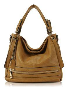Scarleton Fashionable Front Zipper Hobo Bag H171301 - Black: Handbags: Amazon.com