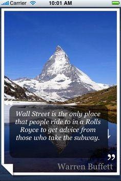 Wall Street  #warrenbuffett #warrenbuffettquotes #kurttasche