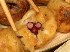 Takoyaki!  This looks sooooooo good, I'm looking forward to getting my own takoyaki pan.