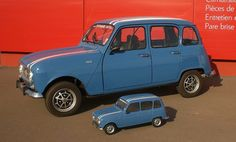 Old Cars, Classic Cars, Automobile, Van, Vehicles, Renault 4, French People, Tin Cans, Vintage Cars