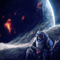 ME3: Palaven Burning by Chacou