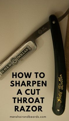 Learn how to sharpen a cut throat razor with this honing guide. If you're new to straight razors you might want to check this out!