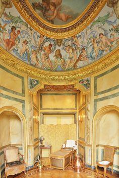 Vaux-le-Vicomte : Le Cabinet des bains ©Yann Piriou