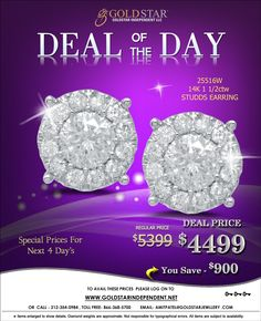 Find Discounted Diamond Jewelry by #Goldstar Independent LLC.