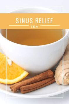 I've been taking Claritin or Zyrtec for what seems like my whole life, but neither bring instant relief...for instant relief, I drink my Sinus Relief Tea.