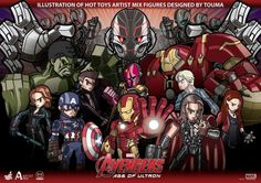 While Quicksilver and Scarlet Witch figures have been conspicuously scarce in the buildup to Marvel's Avengers: Age of Ultron, we get an honest-to-goodness glimpse of the twins in newly release art created by Touma for Hot Toys' new Artist Mix [...]