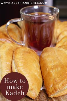 Learn How to make Kadeh with Assyrian Dishes! Learn To Cook, How To Make, Pretzel Bites, Food Videos, Bread, Dishes, Baking, Desserts, Recipes