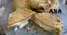 Fabulosa receta para Milanesas de zapallitos rellenas . Tenia zapallitos de mi quinta y los prepare como milanesas pero rellenas de queso y paleta. Las podes acompañar con un rico churrasco o salchichas.