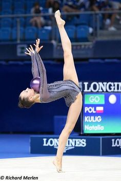 Natalia Kulig (Poland), World Championships 2017 Rhythmic Gymnastics, World Championship, Did You Know, Poland, Cheer, Sports, Art, Humour, Sport