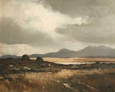 Maurice Canning Wilks ARHA RUA (1911-1984), Bogland near Clifden, Connemara at Morgan O'Driscoll Art Auctions