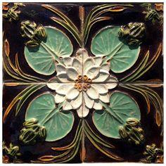 19th-20th Century Portuguese Art Nouveau Azulejos | 1stdibs.com