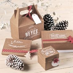 Handmade packaging christmas 2014 || Find more ideas here: www.selfpackaging.com