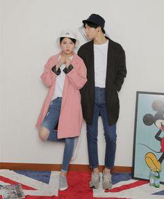 New Clothing Hacks 1012447402 Korean Street Fashion, Asian Fashion, Daily Fashion, Teen Fashion, Fashion Ideas, Korean Image, South Korea Fashion, Couple Outfits, Disney Outfits