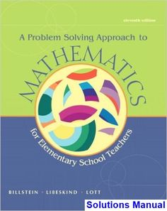 23 best solutions manual download images on pinterest textbook problem solving approach to mathematics for elementary school teachers 11th edition billstein solutions manual test fandeluxe Images