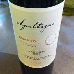 To Chile we go, to a nice Carmenere