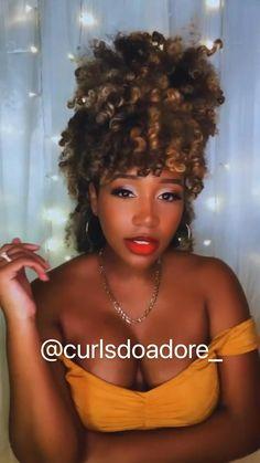 Crown Hairstyles, Loose Hairstyles, Crochet Curly Hairstyles, Black Hairstyles, Natural Hair Care, Natural Hair Styles, Flame Hair, Hippie Hair, Crochet Hair Styles