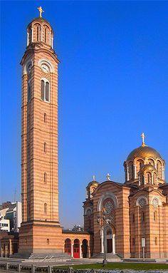 Cathedral of Christ the Saviour Banja Luka, Bosnia and Herzegovina