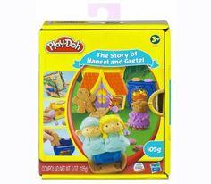 Play-Doh The Story of Hansel and Gretel เหมาะสำหรับเด็กอายุ 3 ปีขึ้นไป  ประกอบด้วยแป้งโดว์ 2 กระปุก และอุปกรณ์