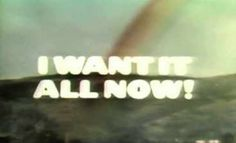 """I Want It All Now"" – NBC (1978)    I need to see this! Weekly Newspaper, Vaporwave, Satire, Movie Tv, Texts, Things I Want, Novels, Writing, Board"